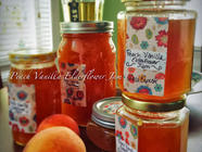Peach, Vanilla and Elderflower Jam found on PunkDomestics.com